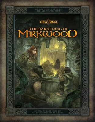 Portada de The darkening or Mirkwood