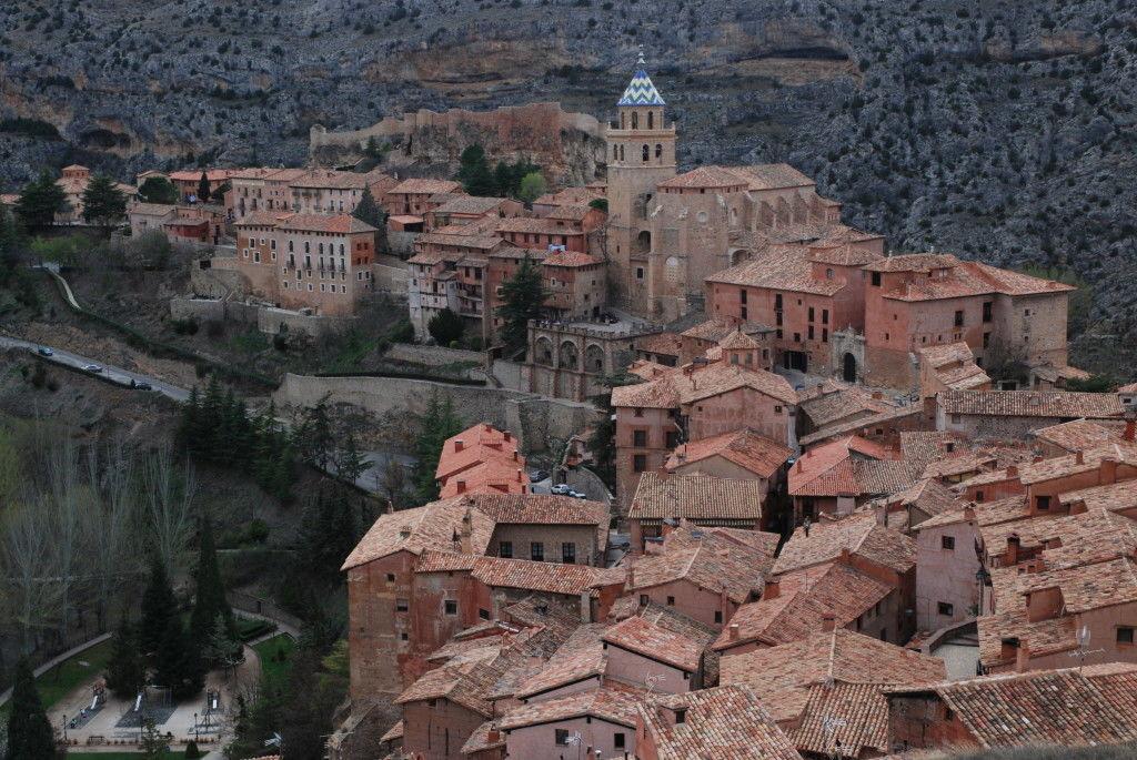 Vista de Albarracín desde la muralla