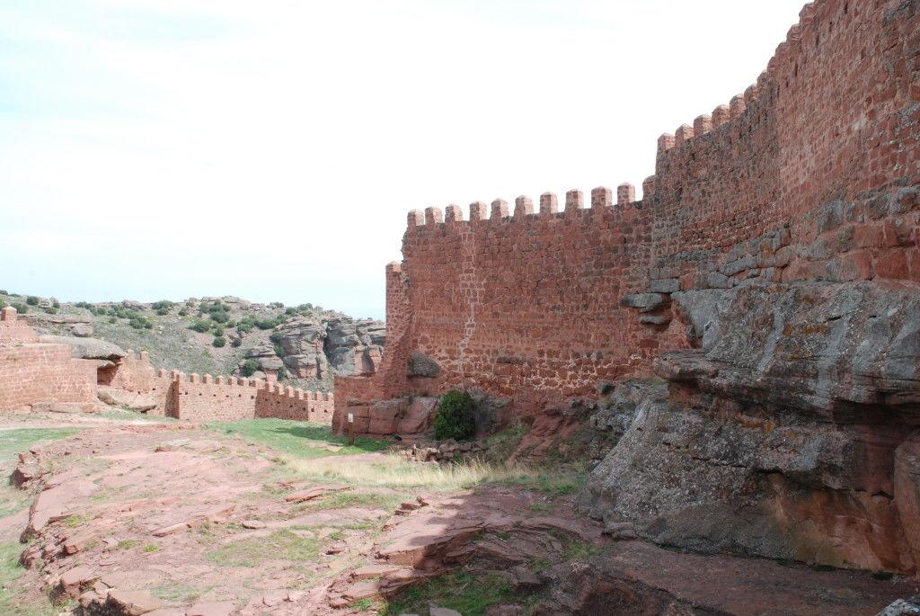 Castillo de Perancese, recinto exterior