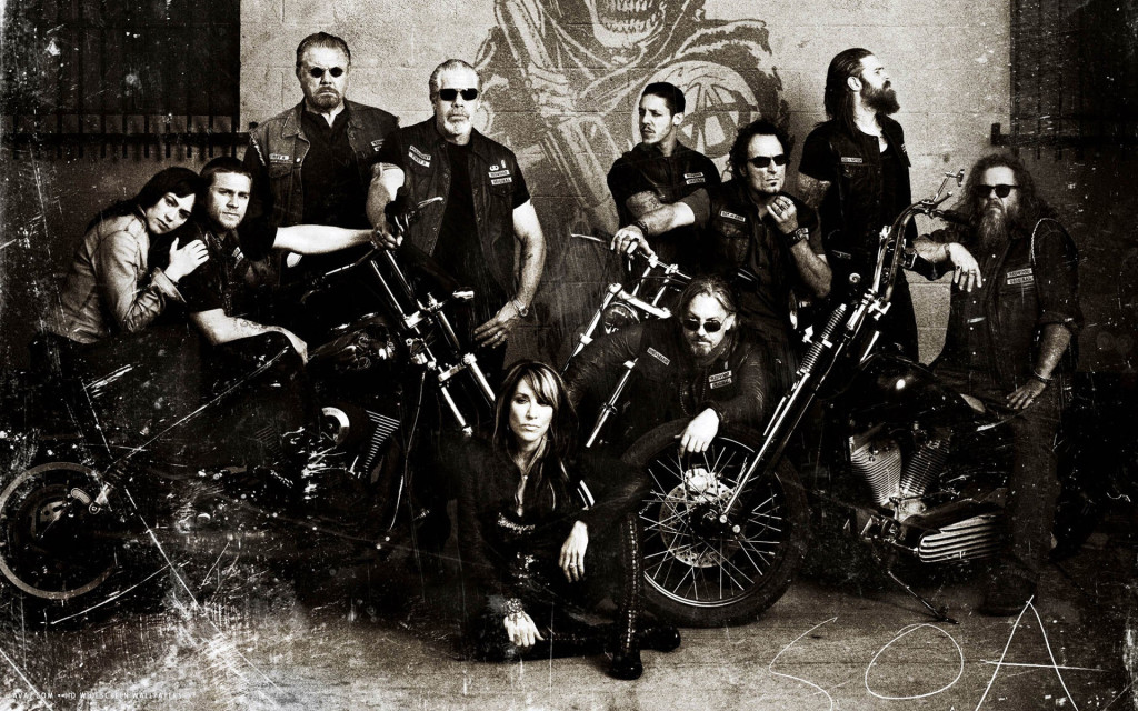 Sons of Anarchy (Mayhem) - Fuente: Sons of Anarchy HD Wallpapers