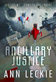 Ancillary Justice, cover