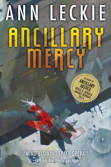 Ancillary Mercy, cover