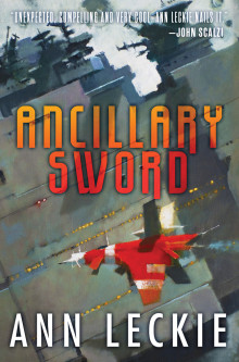 Ancillary Sword, cover