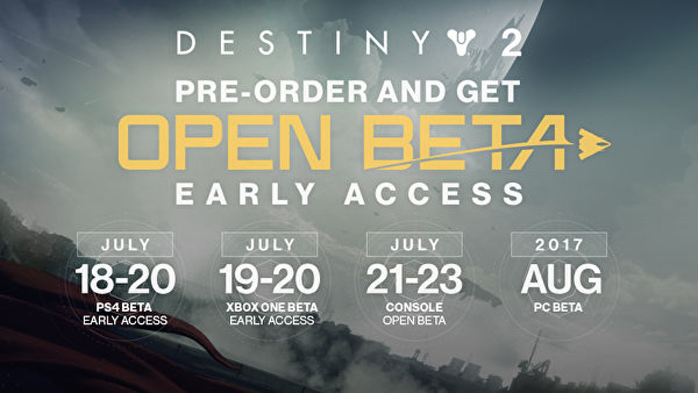 Destiny 2 Beta - Hype!