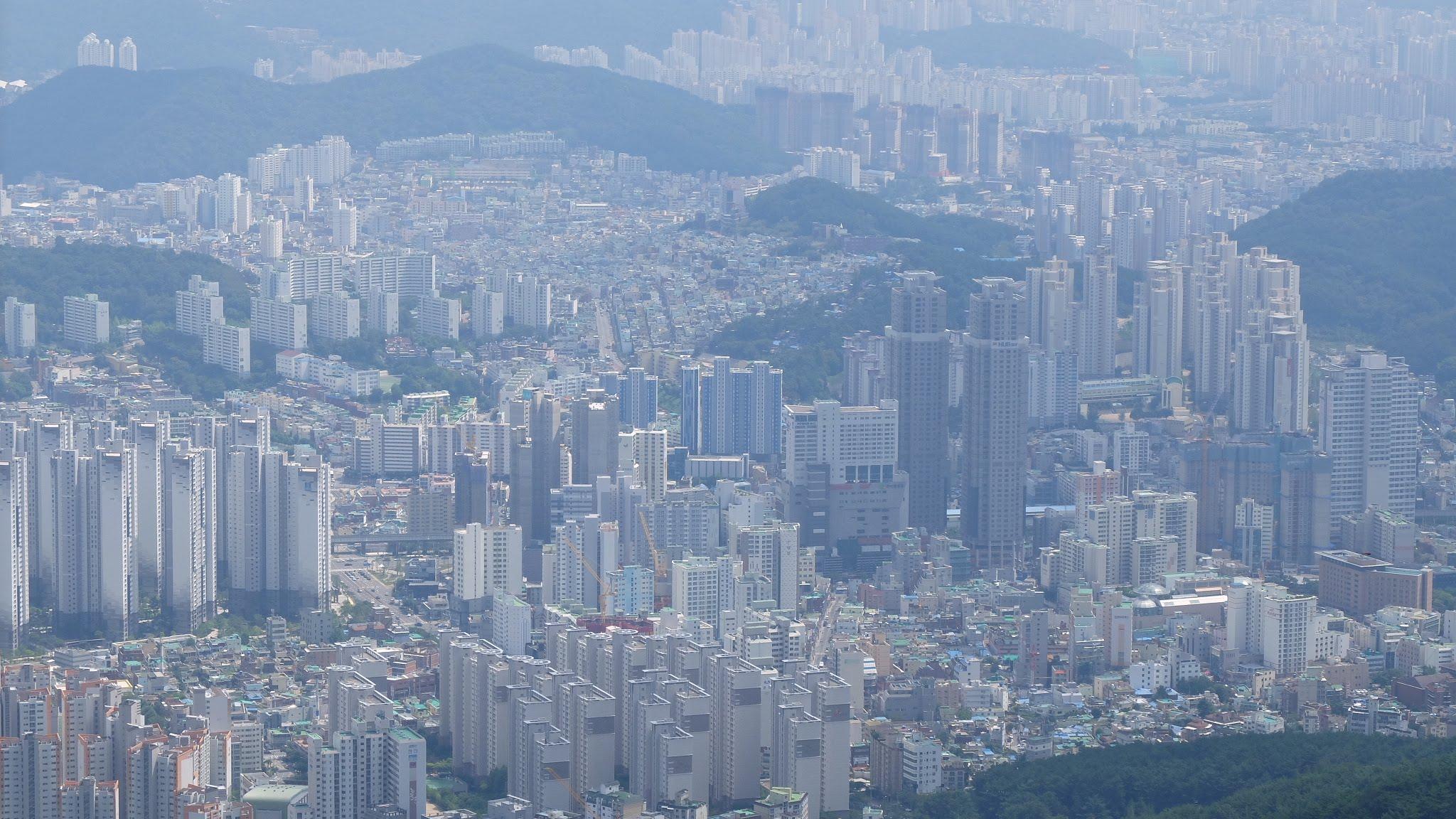 Vista de Busan